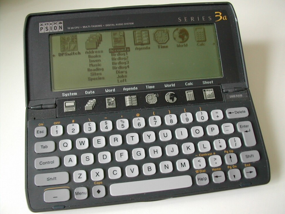Psion Series 3 - Howling Pixel