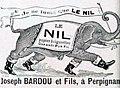 Publicité pour le papier à cigarette 'Le Nil', de Joseph Bardou (1906).jpg