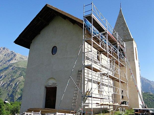 Monument historique à Puy-Saint-Vincent