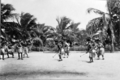 Queensland State Archives 5761 Kebesu war dance Yorke Island Torres Shire June 1931.png