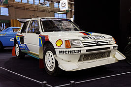 Peugeot 205 Turbo 16 E2 in fabriekskleurstelling