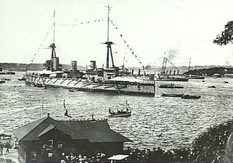 History of the Royal Australian Navy - The official welcome to the new units of the Royal Australian Navy