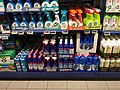 REMA 1000 rengjøringsmidler Klorin Jif - supermarket grocery store interior aisle shelves cleaning products - Tønsberg Norway 2017-11-03 a.jpg