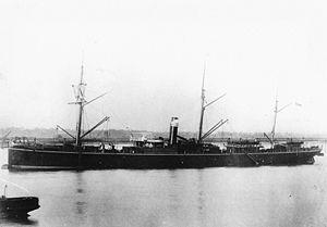 RMS Quetta - RMS Quetta in 1884