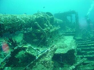 RMS Rhone - Image: RMS Rhone 2003 12