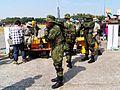 ROCA Special Force Teamers Taken Equipments before Demo 20120211.jpg