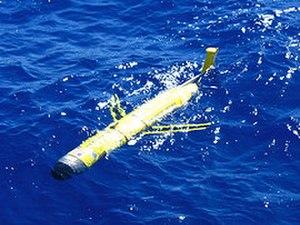 Underwater glider - Rutgers Slocum glider RU02 deployed in Sargasso Sea