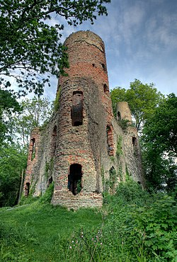 Racton Tower - Monument, West Sussex - geograph.org.uk - 1113942.jpg