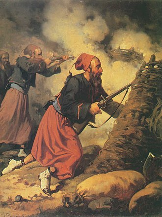 Fez - French Zouave during the Crimean War (1853–56).