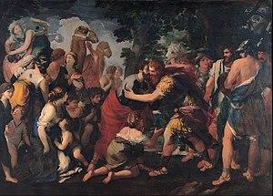Meeting between Esau and Jacob