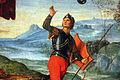 Raffaello, resurrezione di cristo, 1499-1502, 17.JPG