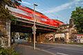 Railroad bridge Am Suedbahnhof Suedstadt Hanover Germany.jpg