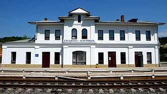 Călărași, Moldova - Călărași railway station