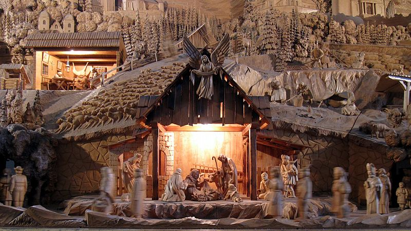 File:Rajecka Lesna Christmas crib detail.jpg