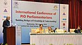 Ram Nath Kovind addressing at the inauguration of the International Conference of PIO Parliamentarians.jpg