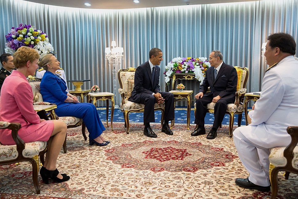 Rama IX of Thailand and Barack Obama