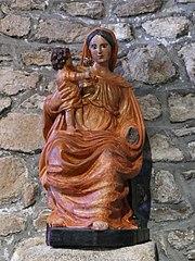 Vierge à l'Enfant assise