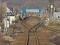 Ranshima station platform 20150410.JPG