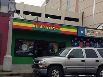Rastafari - A Rasta shop in the U.S. state of Oregon