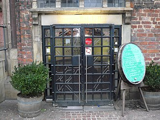 Bremen Ratskeller - The main entrance today