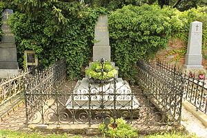 László Rátz - Tomb of László Rátz in Sopron, Hungary.