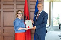 Ravesa Lleshi Albania Joins Geneva Act of the Lisbon Agreement on Appellations of Origin and Geographical Indications.jpg