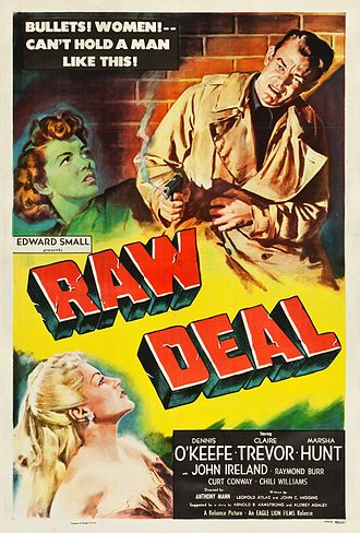 Raw Deal (1948 film) - Theatrical release poster