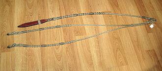 Rein - Pure braided rawhide romal reins