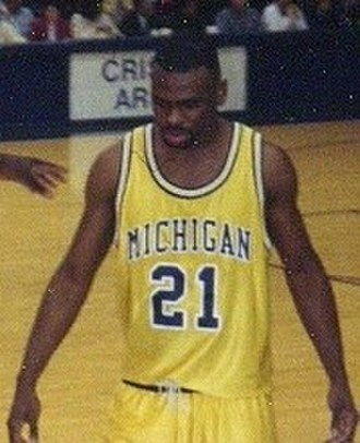 Ray Jackson (basketball) - Jackson in 1993 with the Michigan Wolverines men's basketball team.