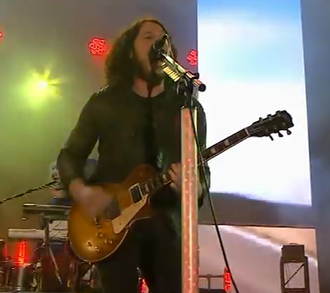 Ray Toro - Toro live with My Chemical Romance in 2011