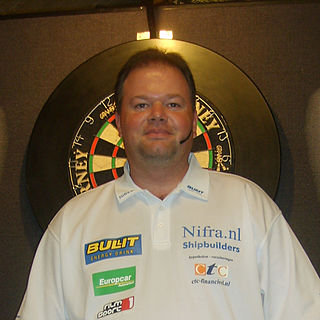 Raymond van Barneveld Dutch darts player