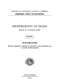 Recenseamento do Brazil (1920) - 01.djvu