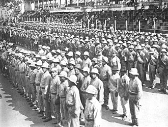 Paraguay - Paraguayan recruits during the Chaco war