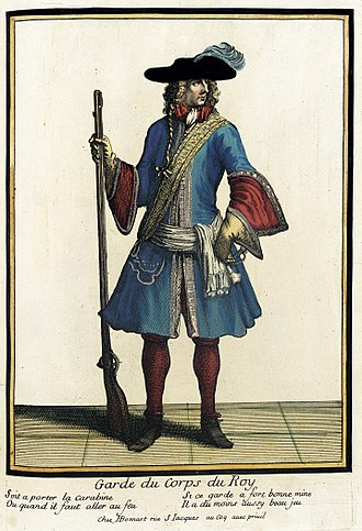 Garde du Corps (France) - Guardsman, ca. 1685