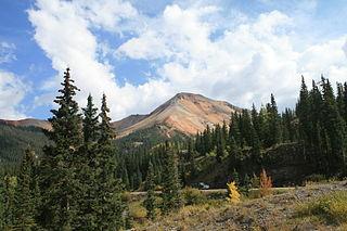 Red Mountain (Ouray County, Colorado) mountain in Ouray County, Colorado, USA