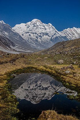 Reflection of Annapurna I.jpg