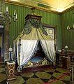 Reggia di caserta, camera da letto di gioacchino murat in stile impero.jpg