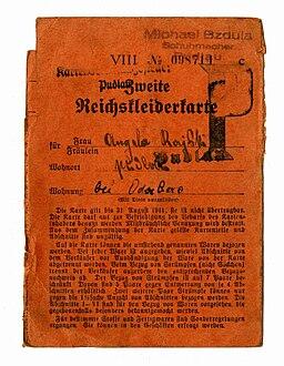 Reichskleiderkarte