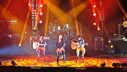 Reik live at Laredo Energy Arena in Laredo, Texas.JPG