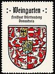 Reklamemarke Kaffee Hag Wappen Weingarten (Württemberg).jpg