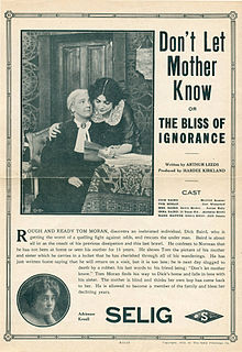 <i>Dont Let Mother Know</i> 1912 film by Hardee Kirkland
