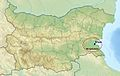 Relief Map of Bulgaria Burgasebene.jpg
