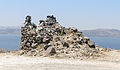 Remains of a windmill at the crater rim near Akrotiri - Santorini - Greece - 02.jpg