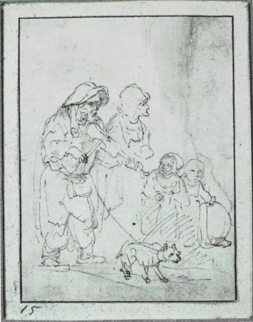 Rembrandt Beggars I
