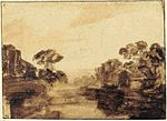 Rembrandt River with Trees.jpg