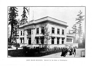 Good Roads Movement - Good Roads Building at the Alaska–Yukon–Pacific Exposition of 1909