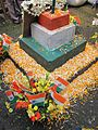 Republic Day decorations at Howrah Flower Market, 2012.jpg