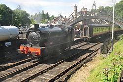 Repulse at Haverthwaite railway station (6585).jpg