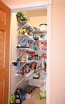 A Contemporary Kitchen Pantry