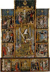 Retaule de Santa Cristina de Corçà